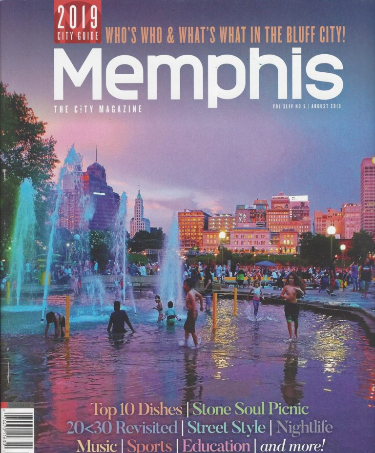 Look for us in the Memphis Magazine!