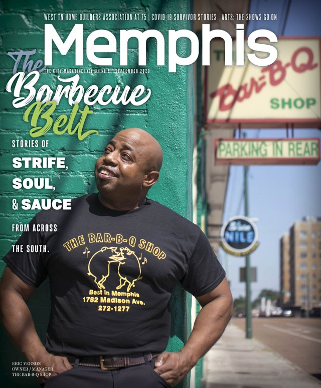 memphis magazine bbq issue sept 2020